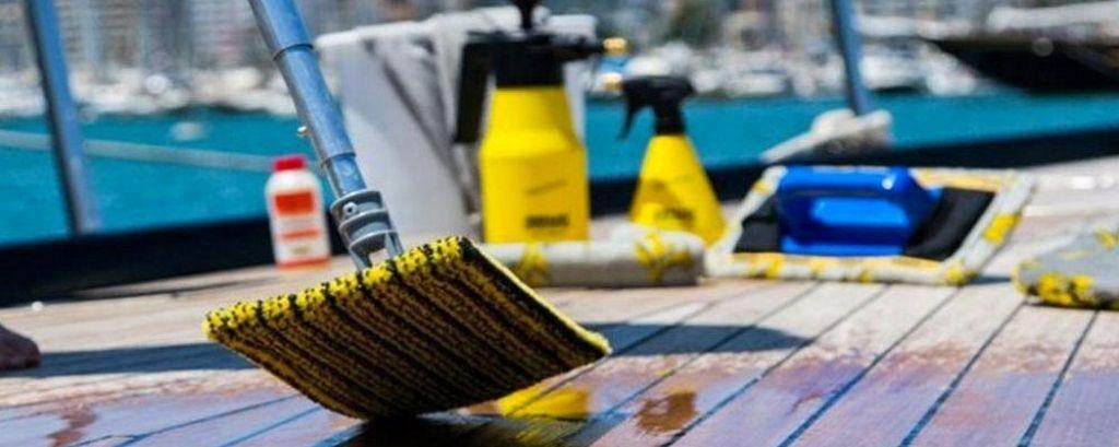 Cosa serve per pulire la barca articolo blog
